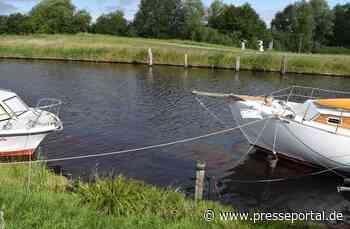 POL-WHV: Ölverschmutzung auf einem Gewässer in Sande (Foto) - Polizei führt Ermittlungen und bittet um... - Presseportal.de