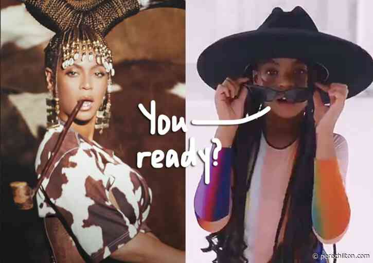 Blue Ivy Steals The Show In Beyoncé's Black Is King Visual Album — Reactions Here!