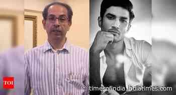 CM Uddhav Thackeray on Sushant Singh's case