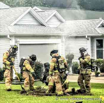 Firefighters tackle Village of Piedmont gas leak blamed on lightning strike - Villages-News