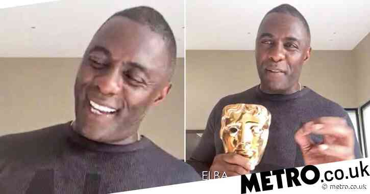 Idris Elba vows to provide opportunities for others in heartfelt Bafta Special Award acceptance speech