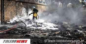 Incêndio ambiental é contido pelo Corpo de Bombeiros, no Jardim Concordia - Toledo News