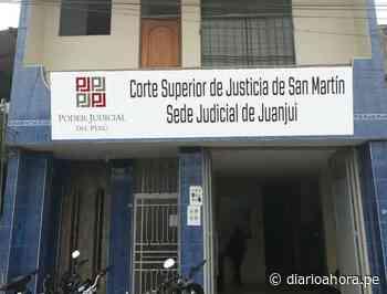 CSJSM cierra local judicial de Juanjuí - diarioahora.pe