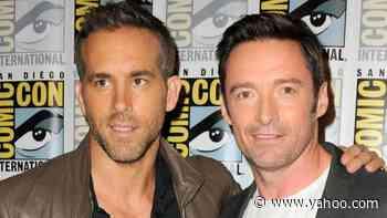 Hugh Jackman Jokes That Ryan Reynolds Is 'Furious' Over His Emmy Nomination - Yahoo Entertainment