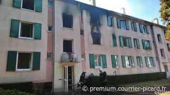 Des habitants évacués par les fenêtres lors d'un incendie à Creil - Courrier picard