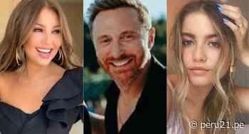"""Thalía, David Guetta y Sofía Reyes se unen a la iniciativa social """"HUMAN (X)"""" - Diario Perú21"""