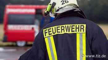Feuerwehr bei Brand in Erfurter Autohaus im Einsatz - Thüringische Landeszeitung