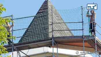 Erster Bauabschnitt sorgt für 30 Meter mehr Kirchturm - Thüringische Landeszeitung
