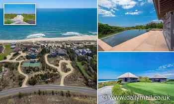 $150m Hamptons home offers two golfing greens and ocean views