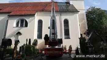 Oberammergau: Blitzschlag in Kirche - Schock-Moment vor Zeugnisvergabe - Merkur.de