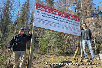 Tahltan Nation closes hunting and recreational activity access points - Barriere Star Journal