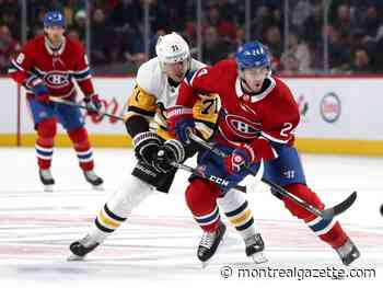 Canadiens are simply outmatched by Penguins in postseason series