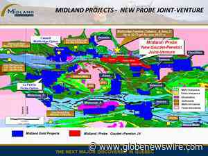 Midland and Probe Metals Form a Major Joint Venture to Control a 35-kilometre Position South of Wallbridge's Fenelon and Tabasco Deposits - GlobeNewswire