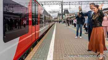 RZD launches Moscow – Yaroslavl – Kostroma Swallow service - International Railway Journal