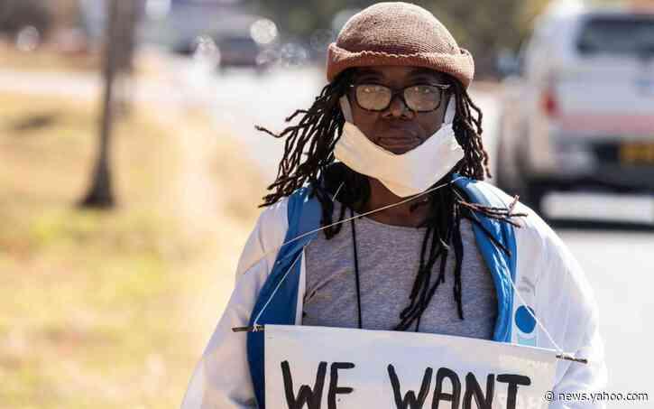 Booker Prize nominee Tsitsi Dangarembga among arrests as Zimbabwe protests squashed by authorities