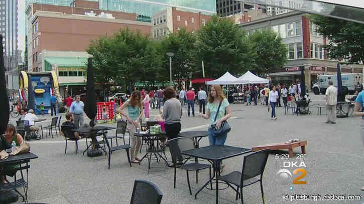 As Restaurants Close In Market Square, Some Worry Banks Are Moving In
