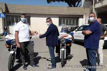 Consegnate alla Polizia Municipale di Canicattì le Moto Guzzi restaurate - Canicatti Web Notizie