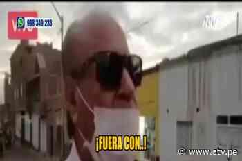 Captan a alcalde de Paiján insultando a sus vecinos - ATV - ATV.pe