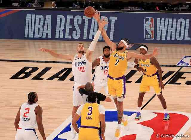 Clippers-Lakers NBA Restart Game Produces Significant TNT Ratings Spike