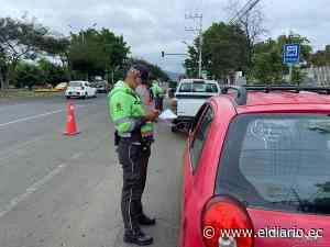 Portovial retoma los controles de tránsito para evitar más contagios en Portoviejo - El Diario Ecuador