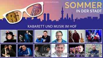 Kabarett & Musik im Hof - Das Sommerprogramm im Deutschen Theater - Abendzeitung