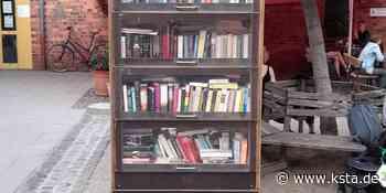 Altenberger Hof hat neuen Bücherschrank - Kölner Stadt-Anzeiger