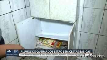 Alunos da rede municipal de Queimados, na Baixada Fluminense, nunca receberam o kit relativo à merenda - G1