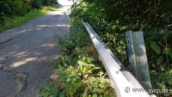Sträßchen von Eschenbach nach Schlat : Warnschilder und Tempolimit - SWP