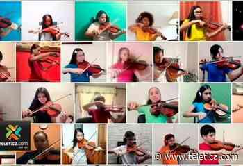 40 niños de orquesta de Paraíso deleitaron en concierto virtual - Teletica