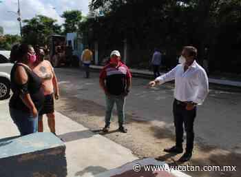 Progreso: mejoran el acceso a Paraíso - El Diario de Yucatán