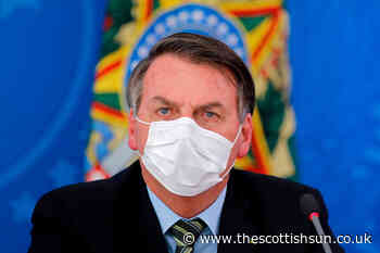 Brazil's coronavirus-denier leader Jair Bolsonaro has 'mould' in lungs after catching Covid as wife tests posi - The Scottish Sun
