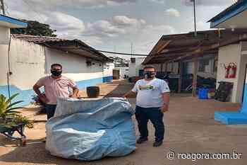 Unidade Prisional de Pimenta Bueno adere a campanha da coleta seletiva - Roagora