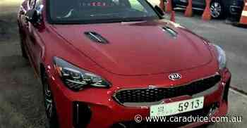 2021 Kia Stinger facelift spied without disguise - UPDATE