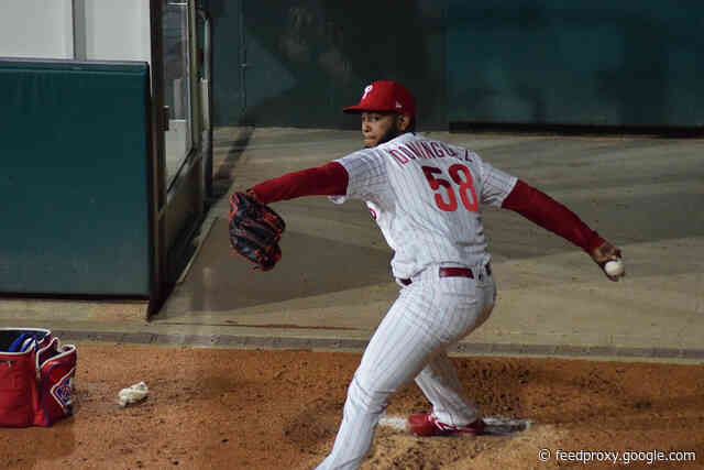 Phillies announce that Seranthony Dominguez had successful Tommy John surgery