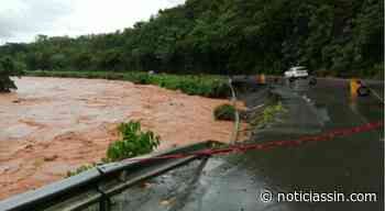 Río Maimón destruye tramo de la carretera de Piedra Blanca en Bonao - Noticias SIN - Servicios Informativos Nacionales