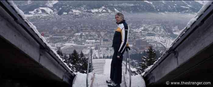 James Coburn Keeps It Cool at the 1976 Innsbruck Olympics