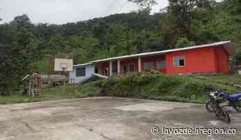 Labores de mantenimiento a sedes educativas en zona rural de Tesalia - Noticias