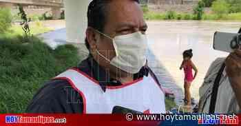 La Cruz Roja en Matamoros al pendiente de posible desalojo de migrantes - Hoy Tamaulipas