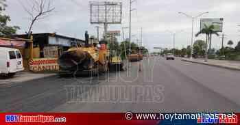 Reanuda Gobierno de Matamoros obras en proceso - Hoy Tamaulipas