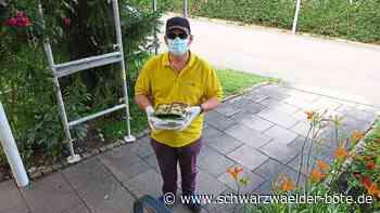 Hechingen - Musiker liefern Schnitzel direkt an die Haustür - Schwarzwälder Bote