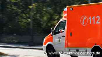 Hechingen - 58-Jähriger bei Arbeitsunfall schwer verletzt - Schwarzwälder Bote