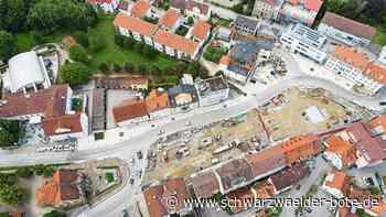 Hechingen - Obertorplatz wird für Verkehr voll gesperrt - Schwarzwälder Bote