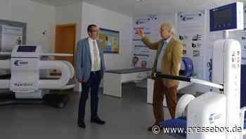 CDU Landtagsabgeordneter Frank Steinraths besucht in Wetzlar die Firma MedTec Medizintechnik GmbH - PresseBox.de