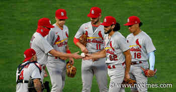 St. Louis Cardinals Postpone Game After Two Players Test Positive for Virus