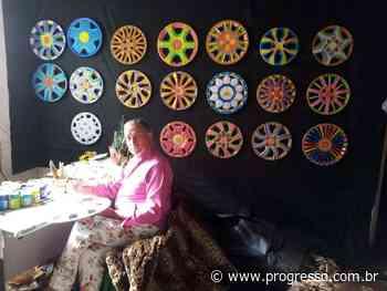 Jonir Figueiredo expõe mandalas de luz - O Progresso - Dourados