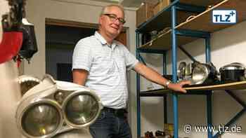 Eisenacher Museum zeigt Fahrzeugbeleuchtung - Thüringische Landeszeitung