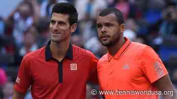 Jo-Wilfried Tsonga comes to the defence of Novak Djokovic on the Adria Tour - Tennis World USA