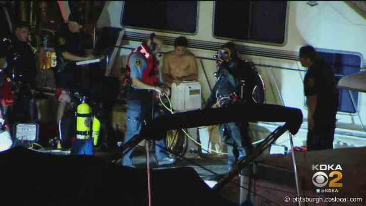 River Rescue Crews Searching For Missing Person At Washington's Landing