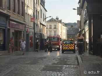 Une partie de maison s'effondre à Pont-Audemer : pompiers et gendarmes sont sur place - actu.fr