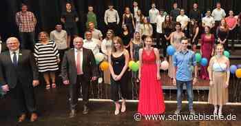 78 Absolventen verabschieden sich von der Michel-Buck-Gemeinschaftsschule in Ertingen und Herbertingen - Schwäbische